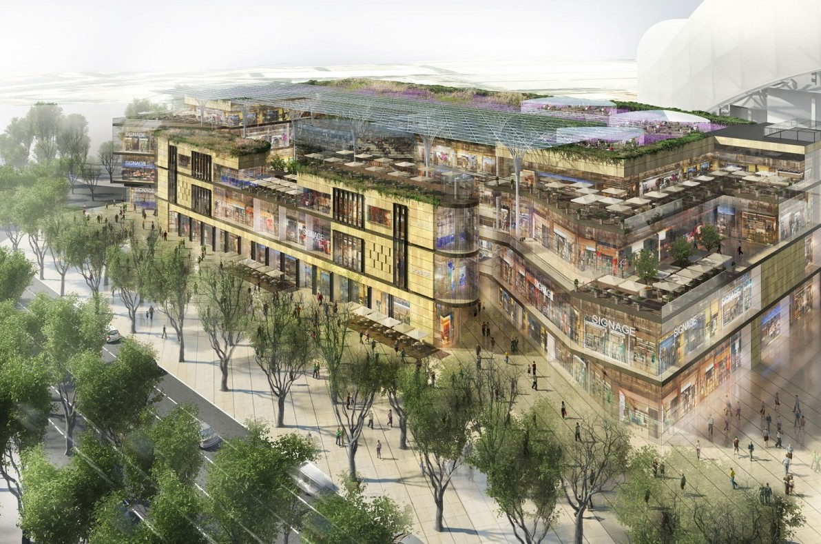 Marseille - Nouveau centre commercial du Prado