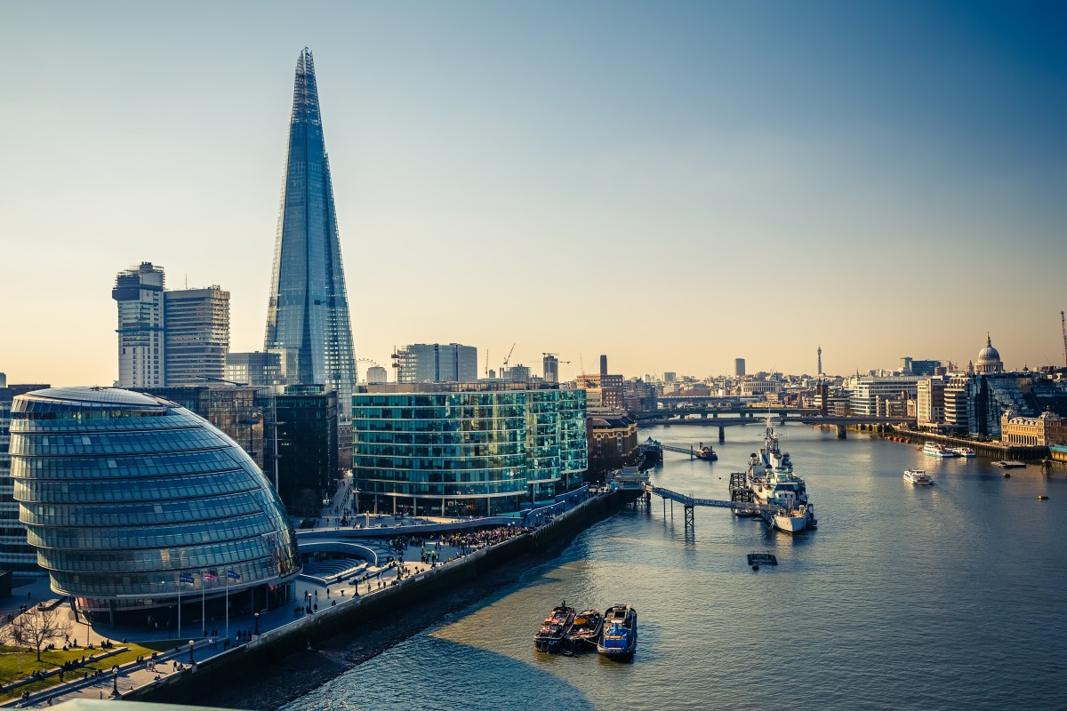 LONDRES : 13 330 € / mois pour 100 m² bureaux