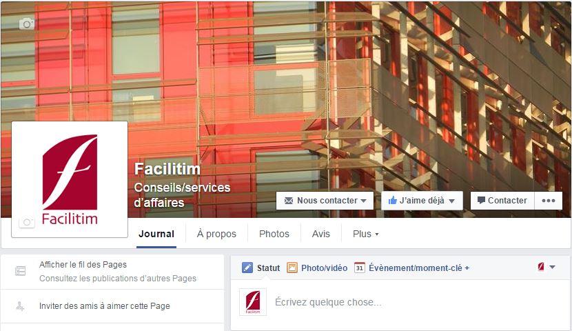 Facebook Facilitim Conseil en immobilier