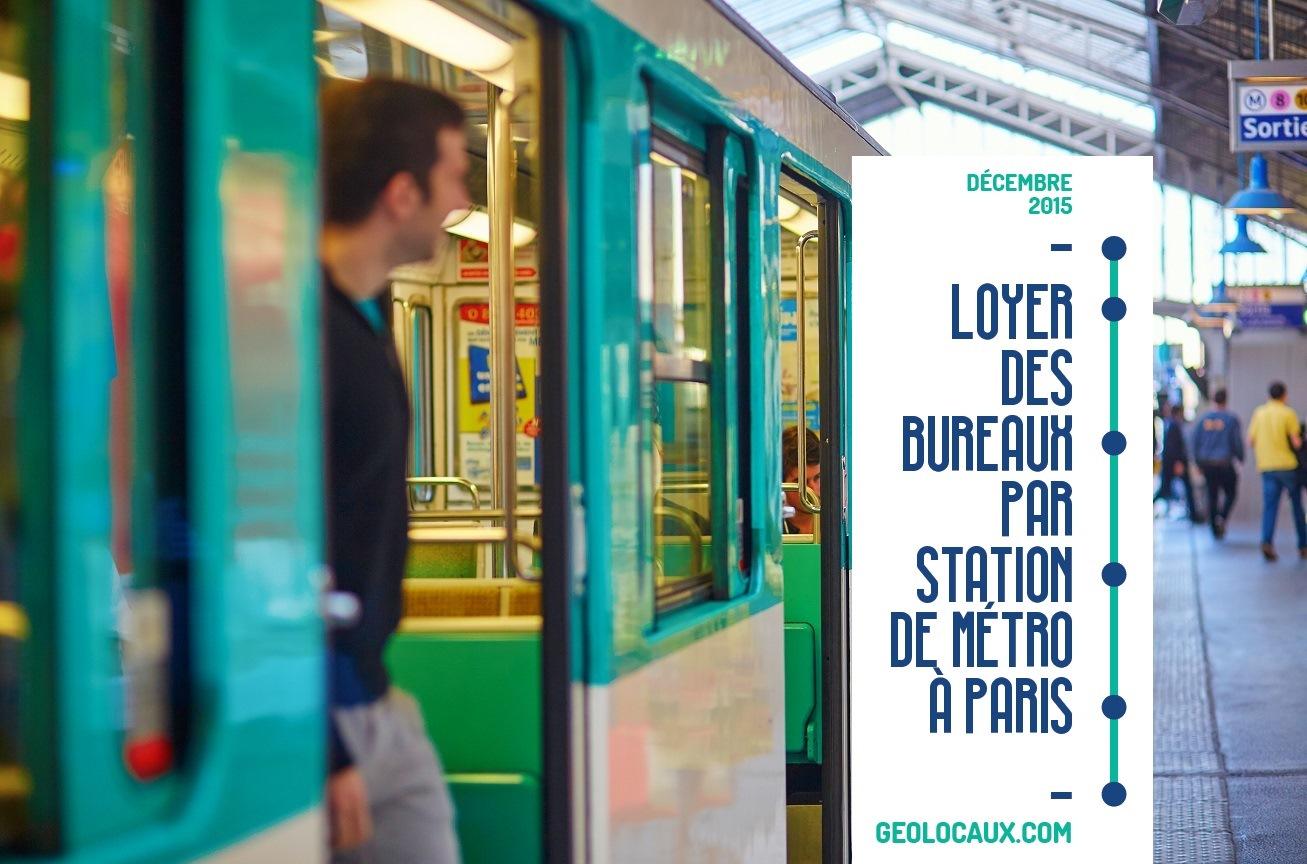 Location de Bureaux à Paris Métro