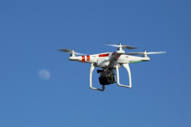 Drone immobilier d'entreprise Geolocaux