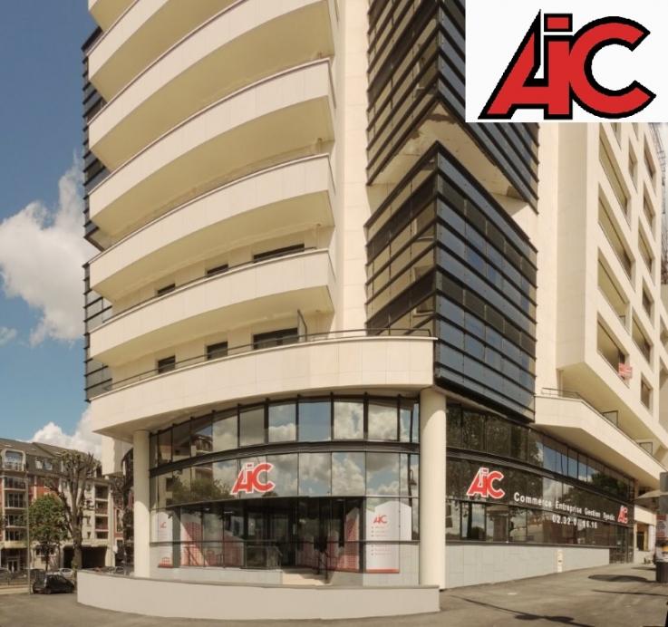 AIC Normandie nouveaux partenaire bureauxGeolocaux immobilier d'entreprise