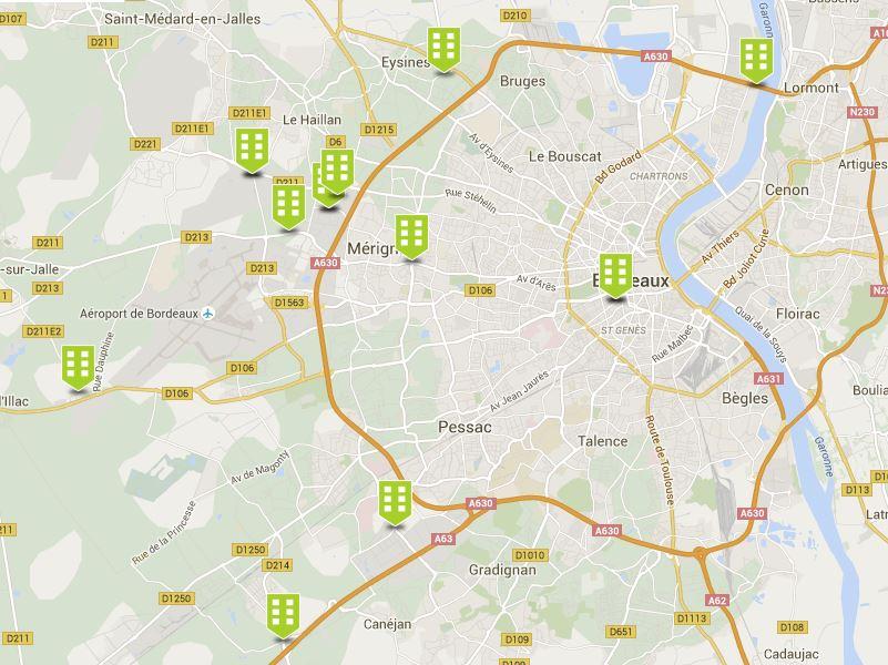 Abault Bordeaux Geolocaux annonces immobilier d'entreprise bureaux location vente