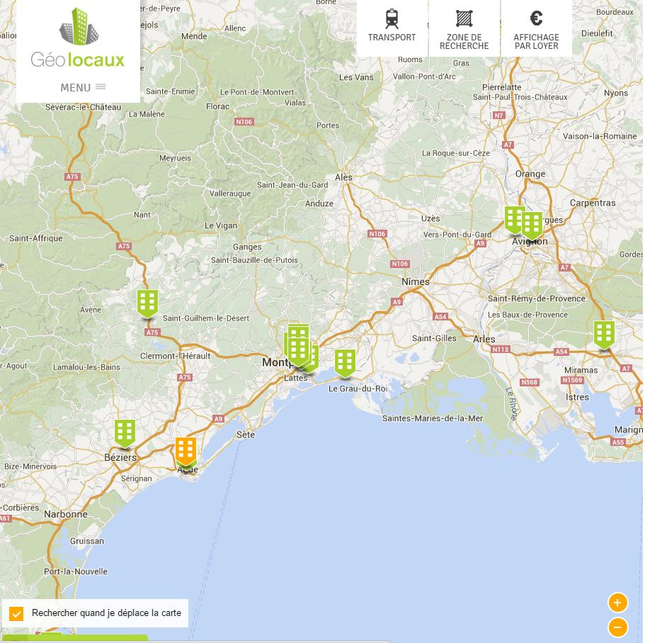 Nouveau partenaire bureaux Montpellier Fdi-gaci chez Geolocaux