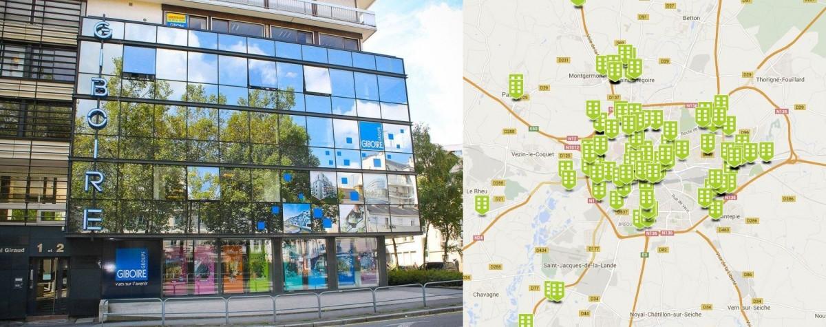 Giboire Entreprise Rennes Location Bureaux