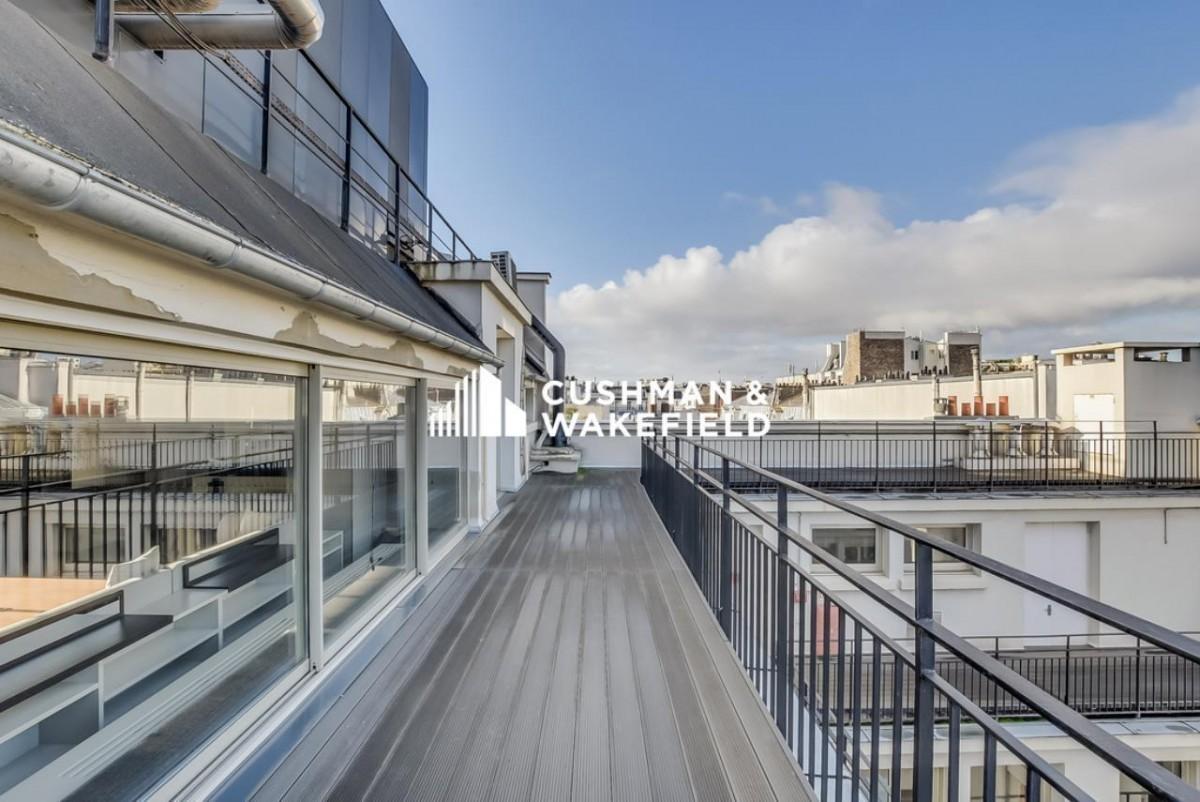 bureaux avec terrasse Geolocaux Cushman & Wakefield