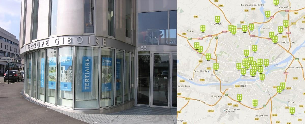 Giboire Entreprise Nantes Location Bureaux