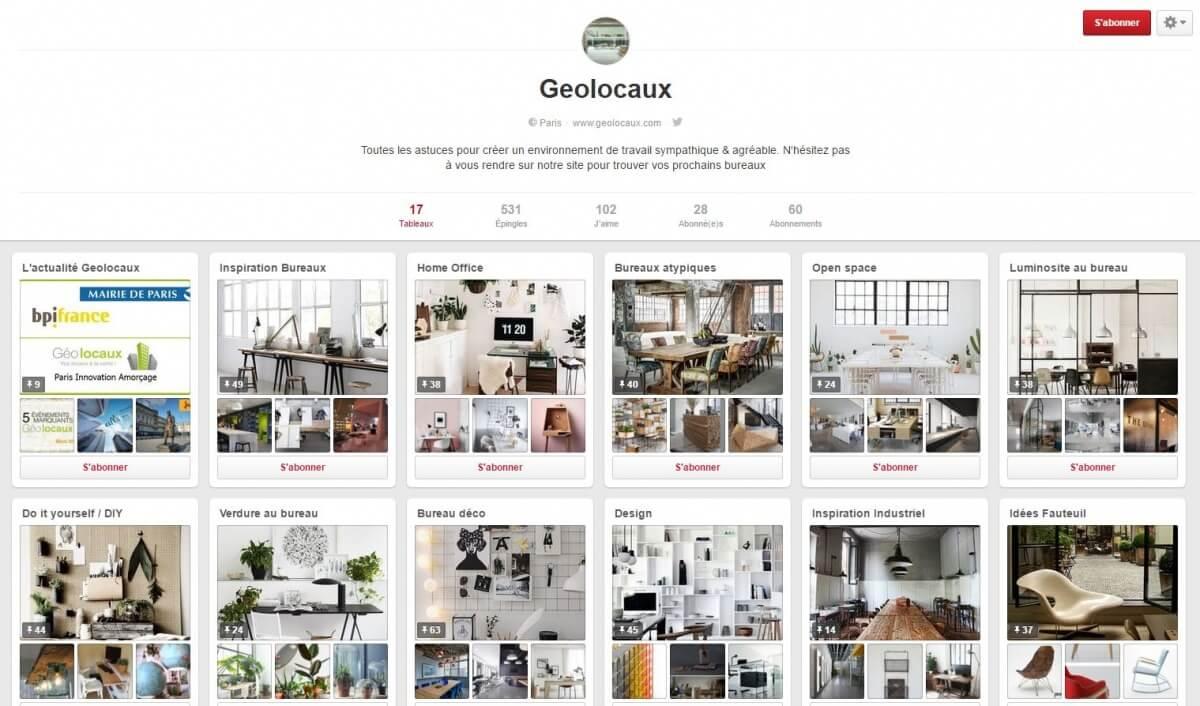 Pinterest Geolcoaux idées décoration bureaux