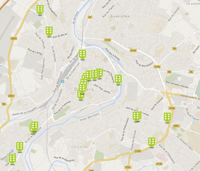 David Descubes location locaux commerciaux Poitiers