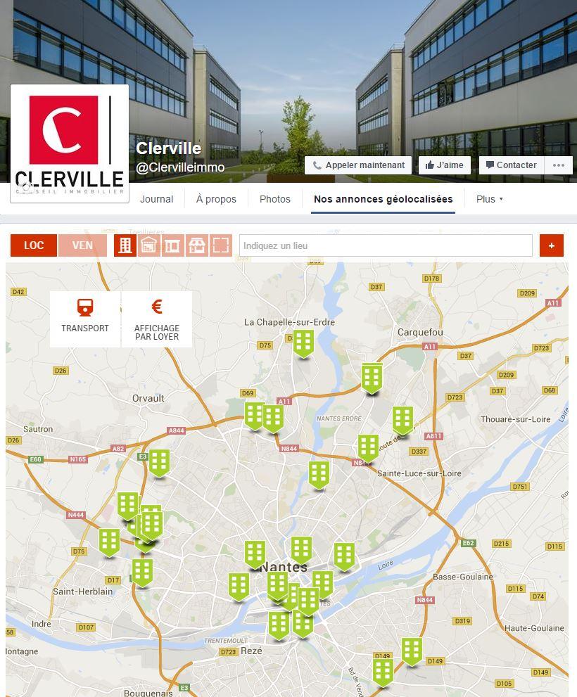 Clerville Facebook Clervilleimmo Christian Dufour