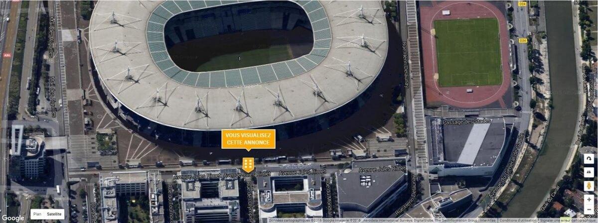 location bureaux Stade de France