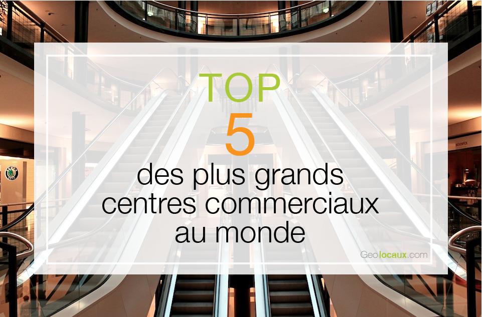 Geolocaux Centre Commerciaux