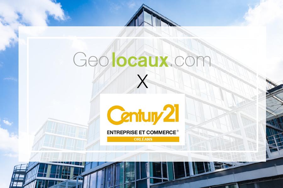 Century 21 Orléans : nouveau partenaire Geolocaux