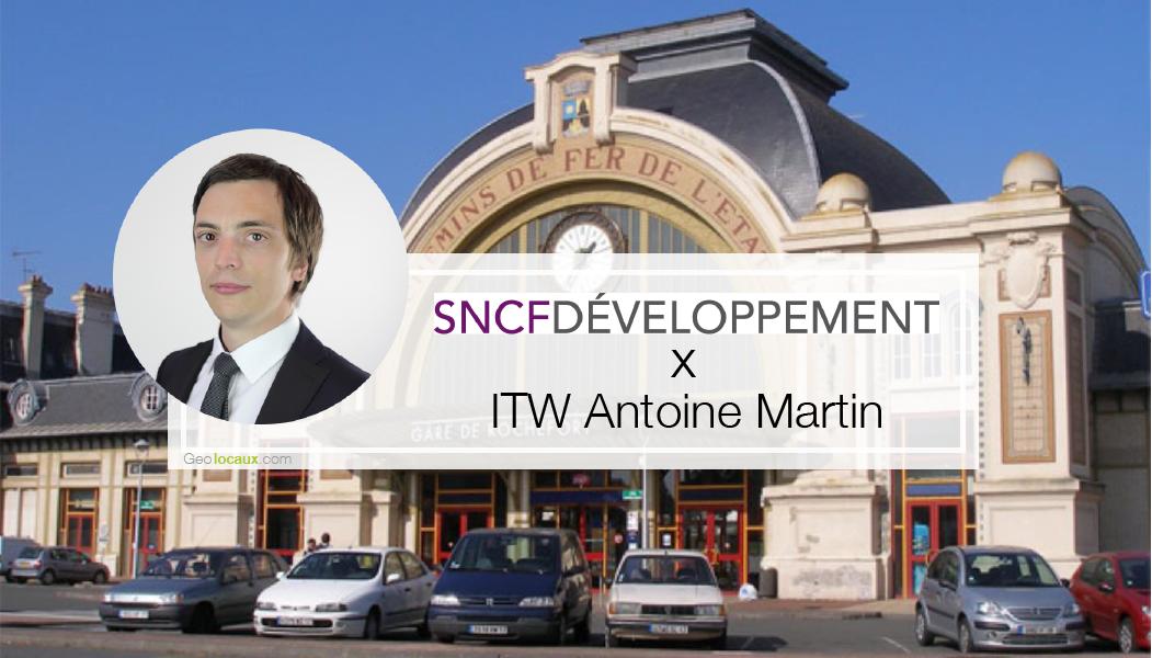 Appel à projet tiers-lieux interview Antoine Martin SNCF Developpement