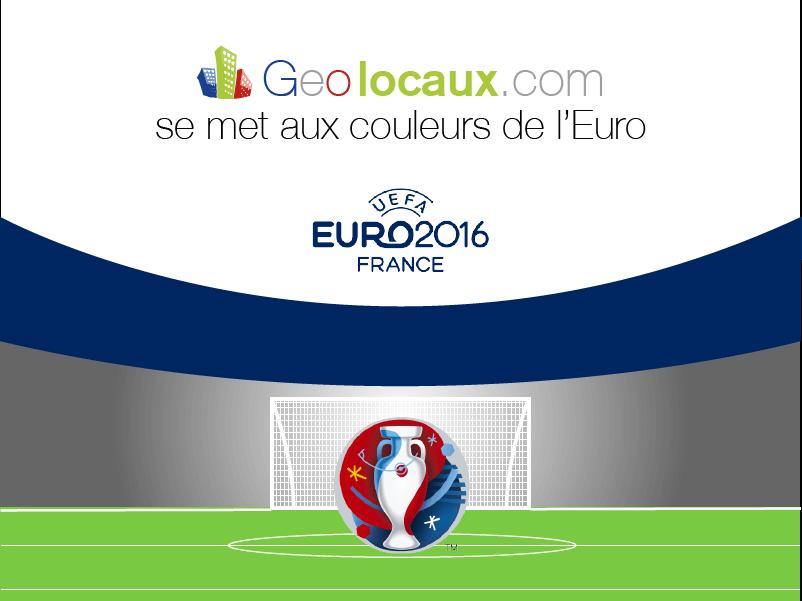 Geolocaux se met aux couleurs de l'Euro !