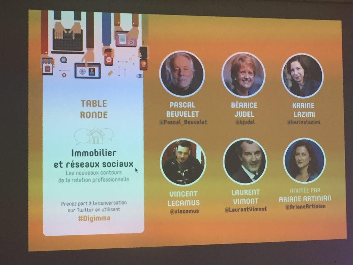 conférence immobilier et réseaux sociaux #digimmo