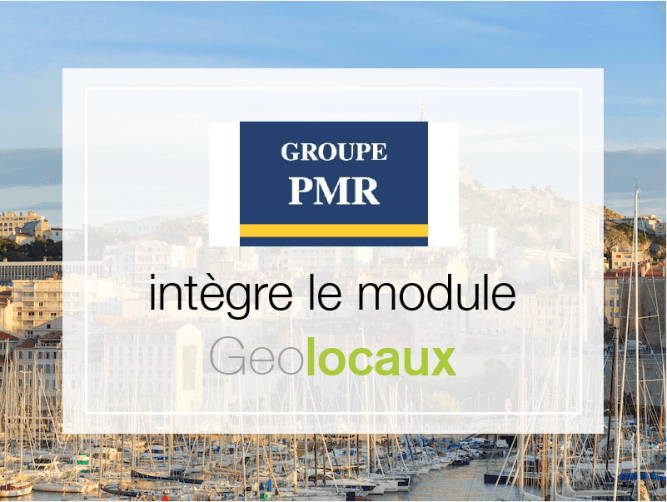 Groupe PMR intègre module Geolocaux