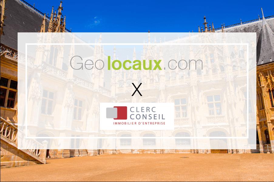 Clerc Conseil nouveau partenaire Geolocaux