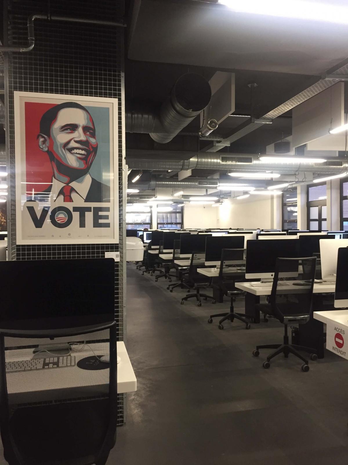salle de travail - ecole 42