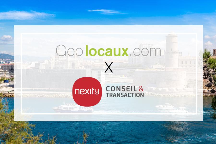 Nexity Conseil et Transaction Marseille partenaire de Geolocaux
