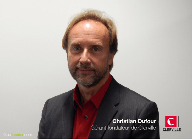 Geolocaux Interview Christian Dufour Clerviille