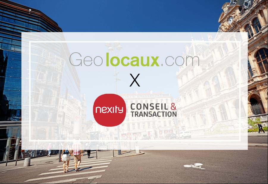 Nexity Conseil et Transaction Lyon partenaire de Geolocaux