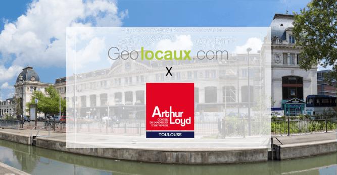 Arthur Loyd Toulouse Geolocaux