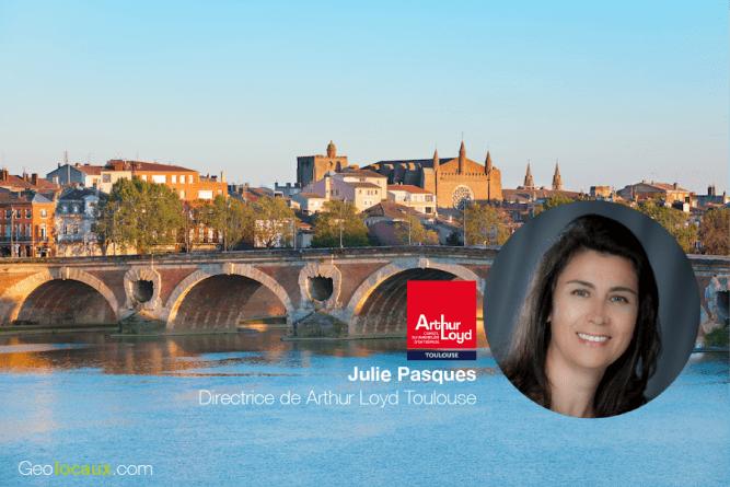 Julie Pasques Arthur Loyd Toulouse Geolocaux