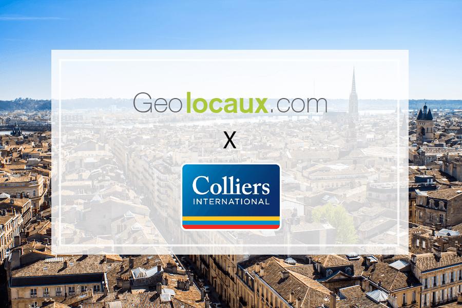 Colliers Bordeaux : nouveau partenaire de Geolocaux