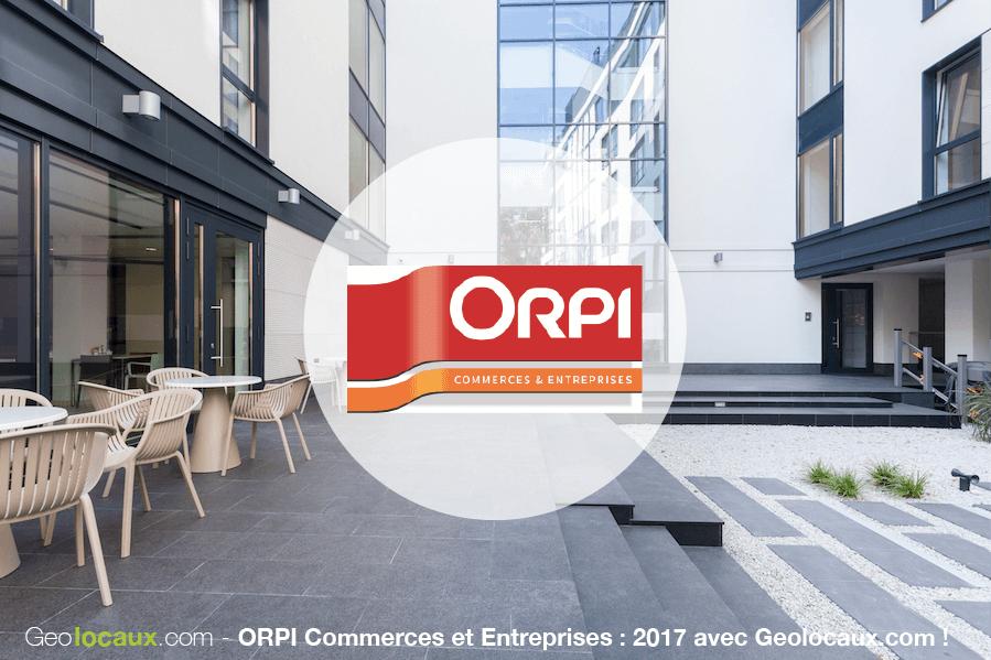ORPI Commerces & Entreprises : 2017 avec Geolocaux !