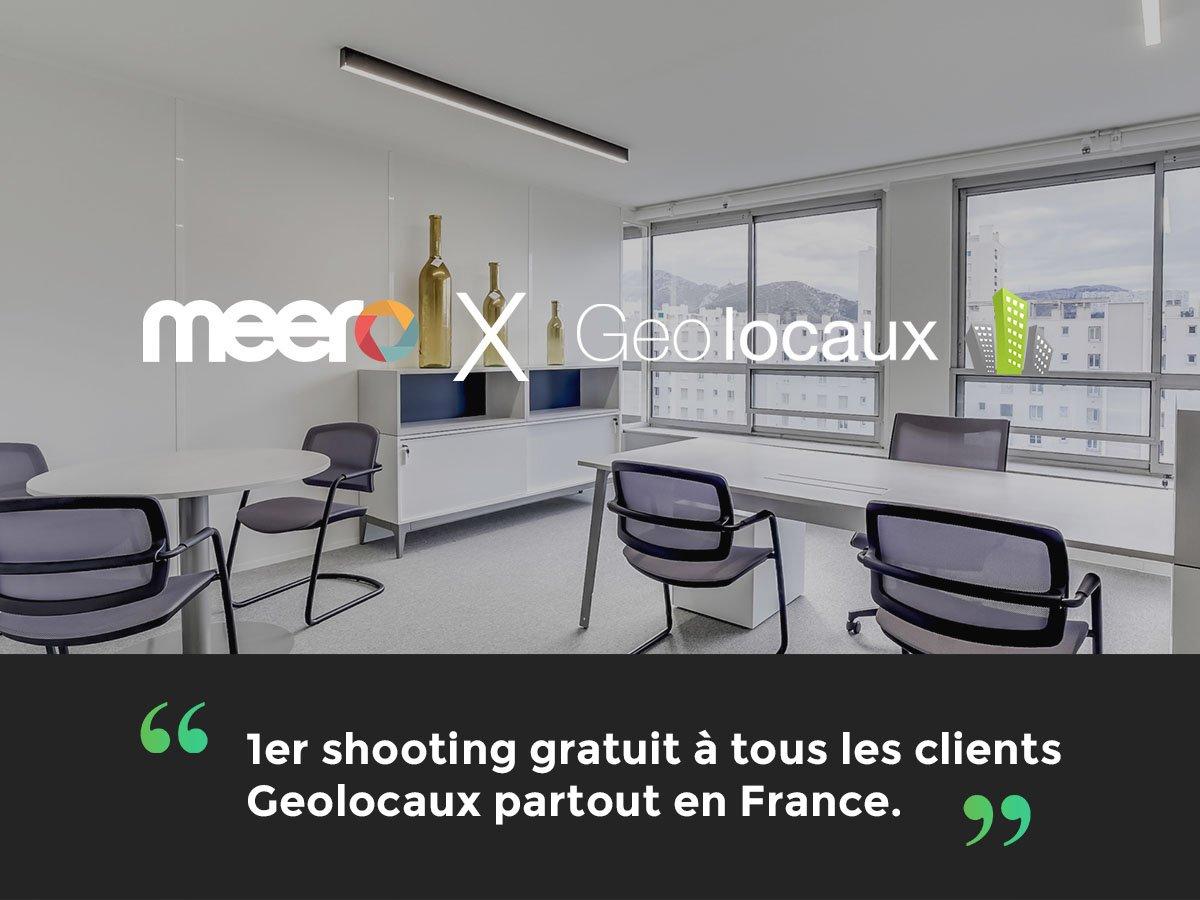Post Meero et Geolocaux