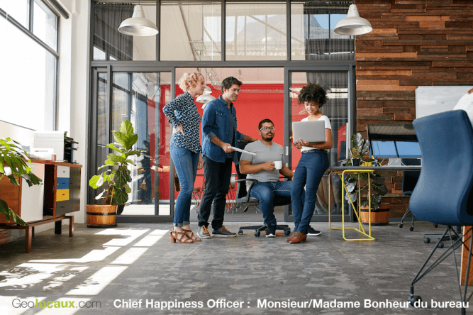 Chief Happiness Officer Geolocaux