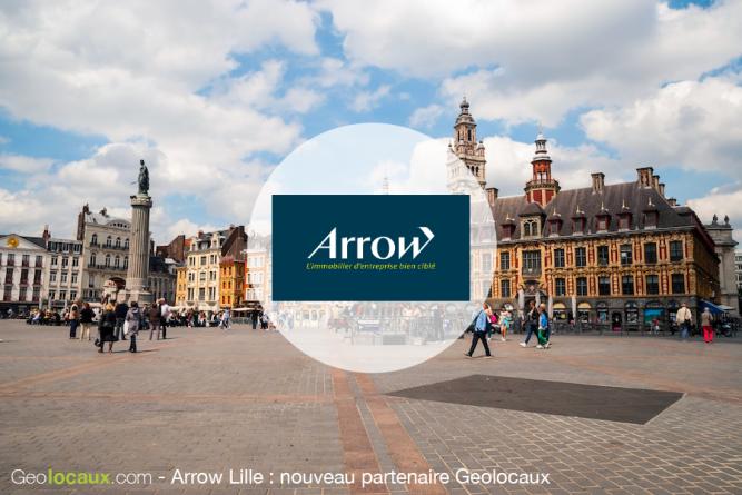 Arrow immobilier Lille Nouveau partenaire Geolocaux