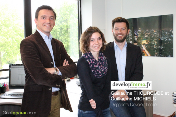 Interview Guillaume Thouroude Guillaume Michiels Developimmo