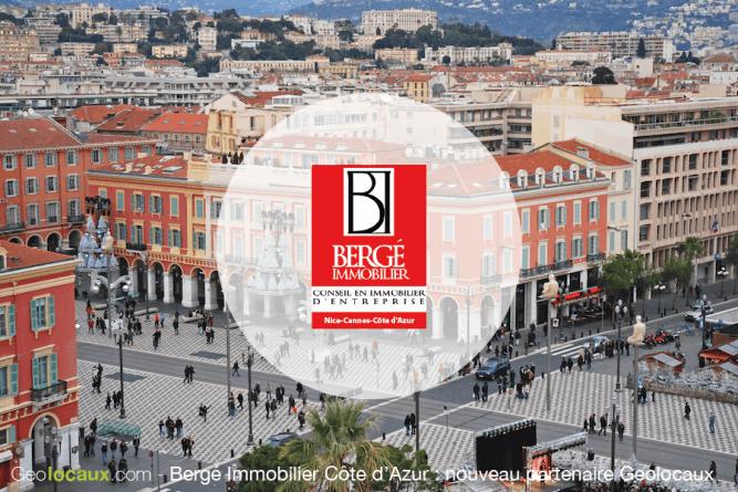 Bergé immobilier Côte d'Azur Geolocaux