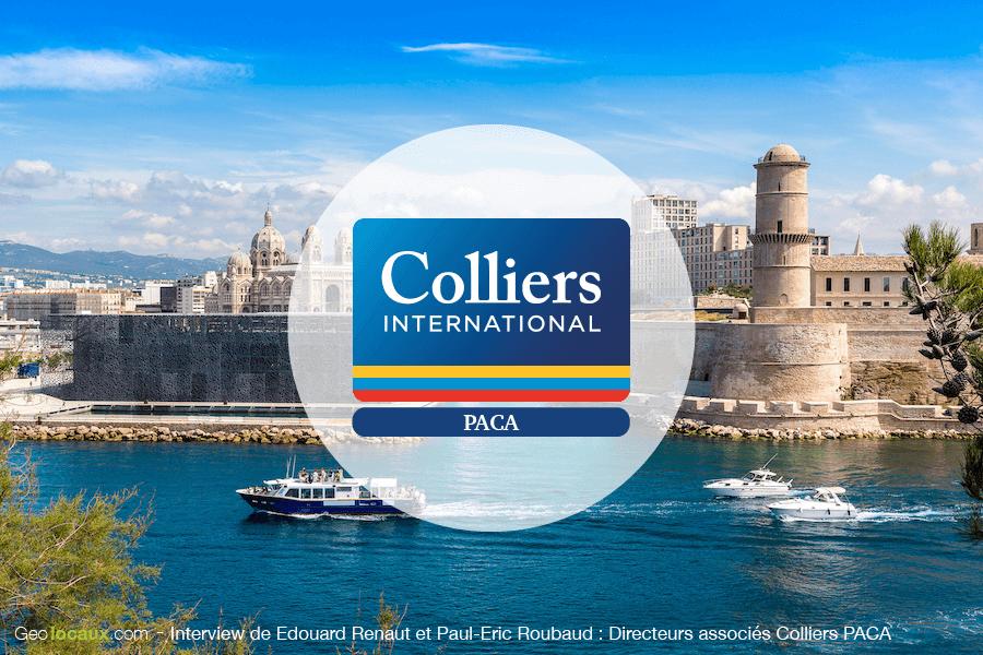 Interview de Paul-Eric Roubaud et Edouard Renaut : Directeurs associés Colliers PACA