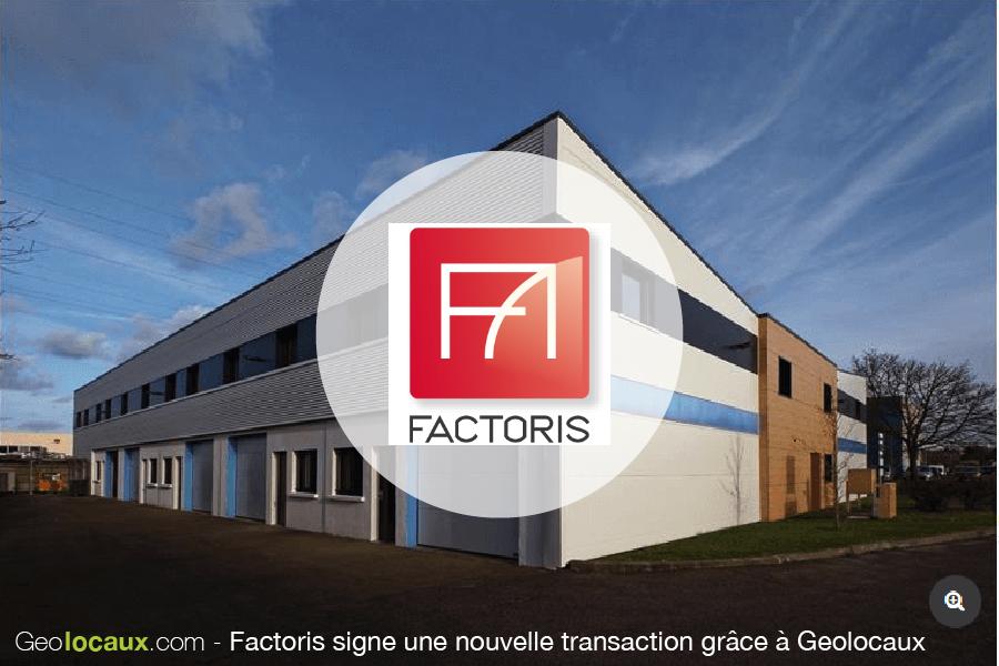 Nouvelle transaction de Factoris grâce à Geolocaux