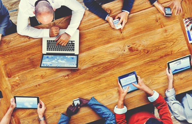 Jeunes salariés favorables au coworking