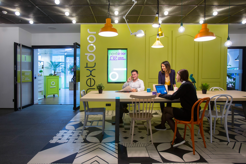 le pass nextdoor la nouvelle offre de coworking la carte. Black Bedroom Furniture Sets. Home Design Ideas