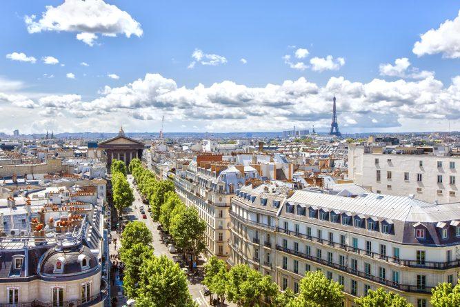Paris ville dynamique Europe