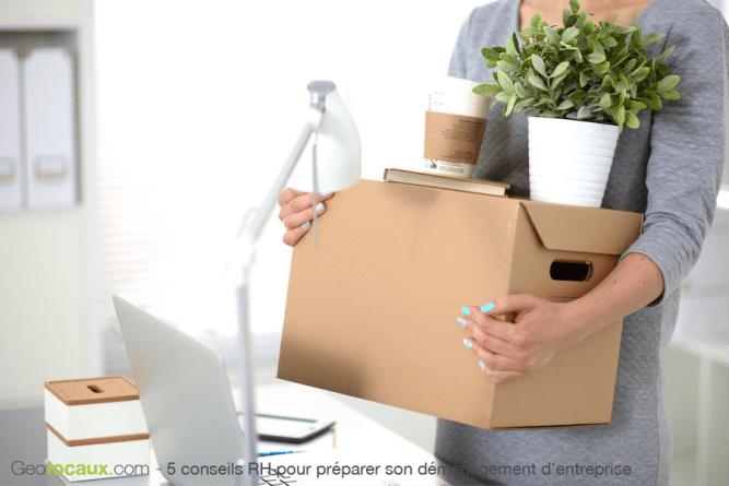 5 conseils RH déménagement entreprise