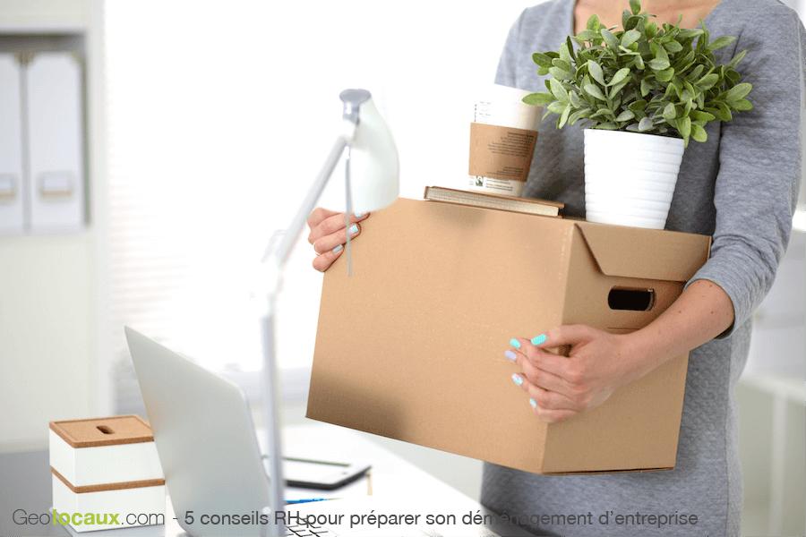 5 conseils RH pour bien préparer son déménagement d'entreprise