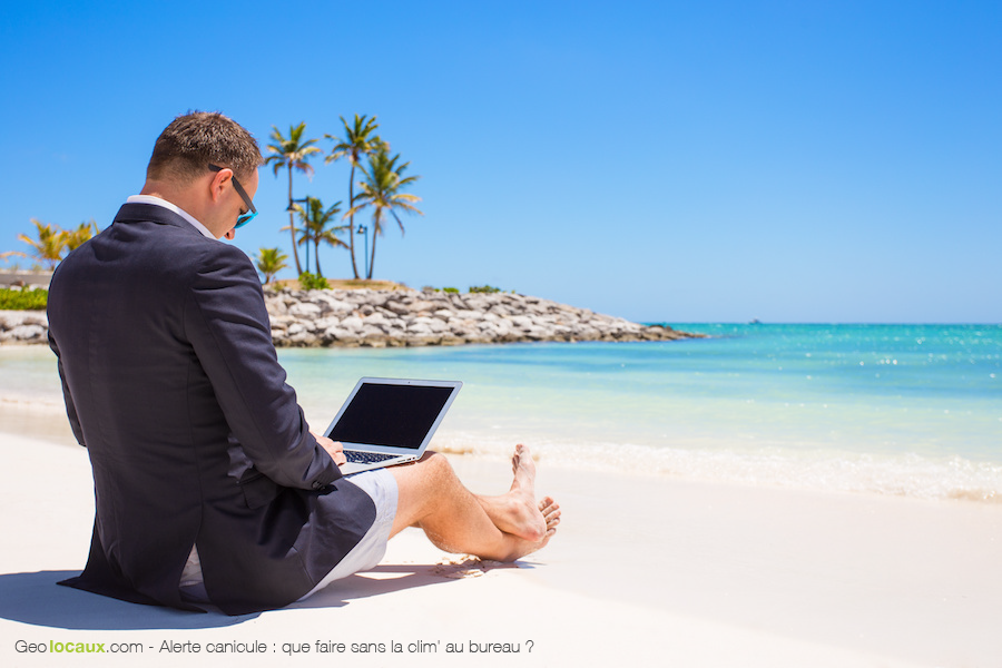 Alerte canicule : que faire sans la clim' au bureau ?