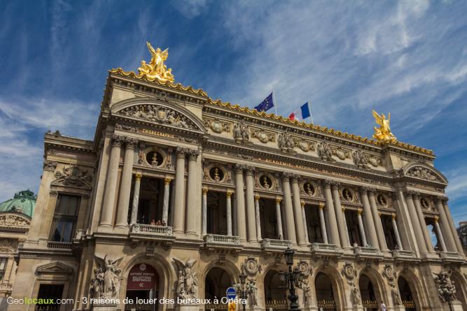 3 raisons de louer des bureaux à Opéra