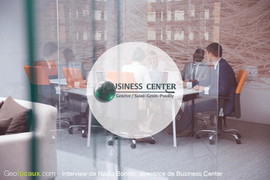 Interview Nadia Bonnin Business Center