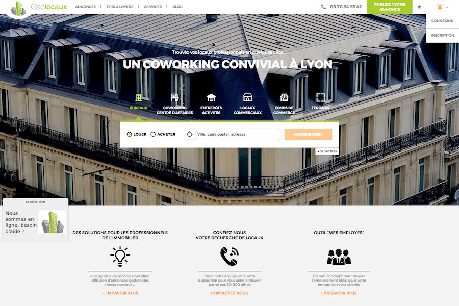 Geolocaux.com lance une nouvelle version de son site !
