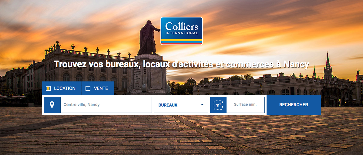 Nouveau site Colliers Nancy