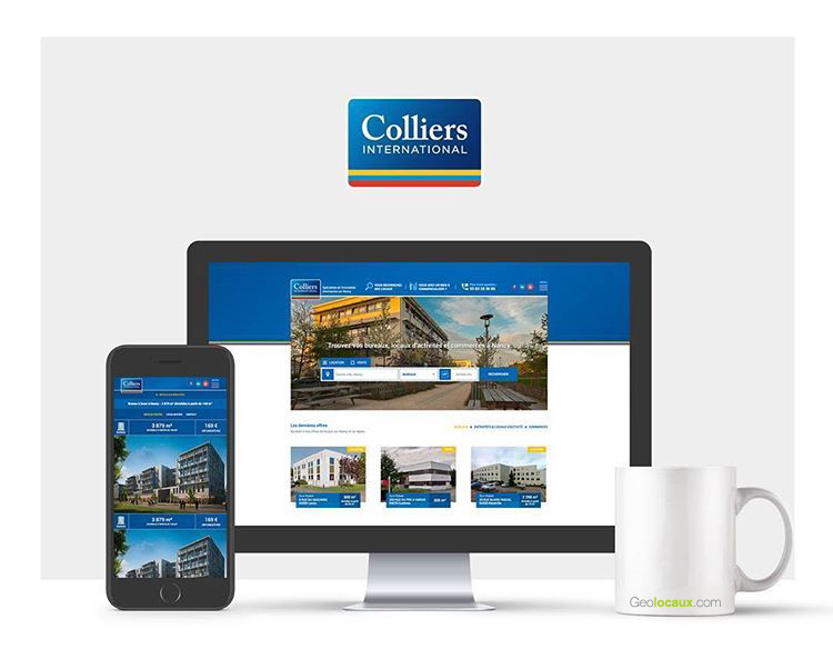Colliers Nancy nouveau site web