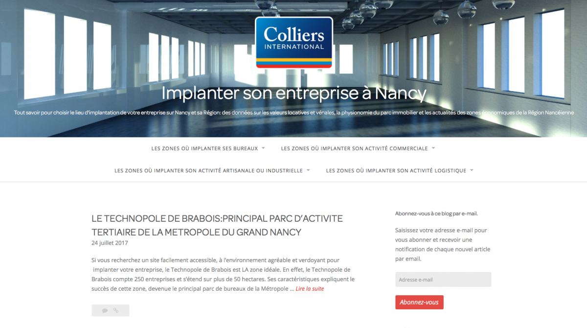 Colliers Nancy