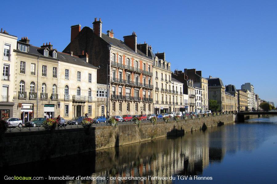 TGV Rennes Immobilier d'entreprise